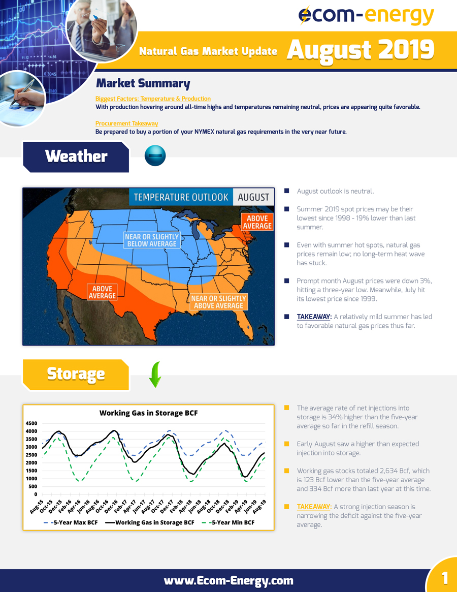 Ecom-Energy's August 2019 Market Update - Page 1