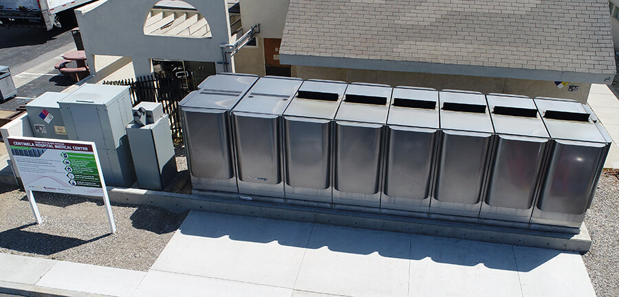 Bloom Energy Fuel Cell at Centinela Hospital Medical Center