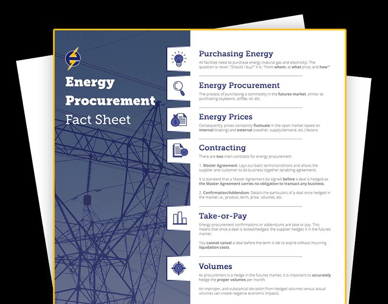 Ecom-Energy's Procurement Fact Sheet